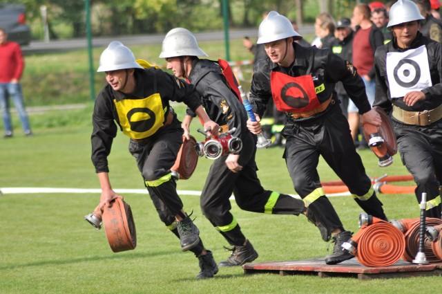 Zawody strażaków powiatu makowskiego odbyły się w niedzielę 15 września