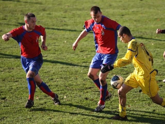 Piłkarze Gryfa dobrze radzili sobie w rundzie jesiennej.