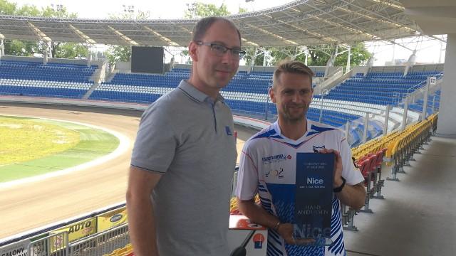 Wojciech Jankowski z firmy Nice i Hans Andersen z Orła