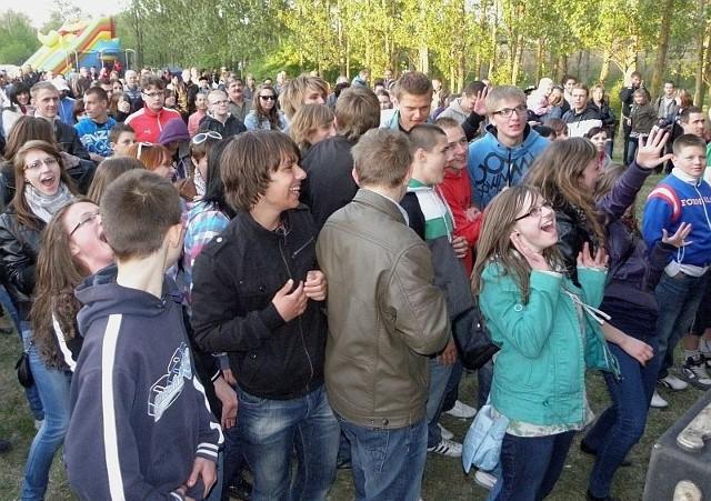 A tak mieszkańcy Janikowa bawili się na ubiegłorocznej majówce