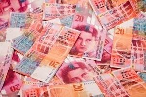 Frank osłabł względem euro