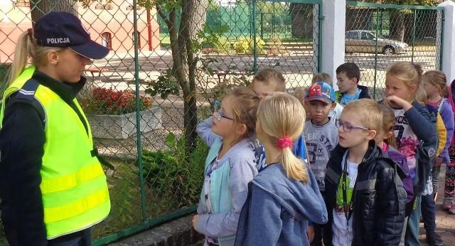 Jedno z takich spotkań przeprowadziła st. sierż. Monika Broda - specjalista ds. nieletnich KPP w Żaganiu.