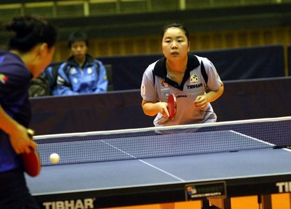 Zhao Xiao poprowadziła drużynę tenisistek stołowych Forbetu-OWG Tarnobrzeg do zwycięstwa nad Bronowianką Kraków.