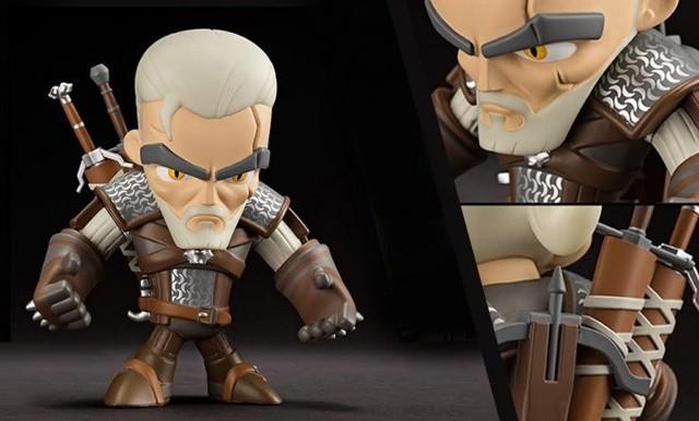 Wiedźmin 3: Dziki GonLicencjonowana, winylowa figurka Geralta z Rivii firmy J!NX