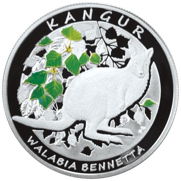 NBP wybił kangura olbrzymiegoNa rewersie polskiej monety znalazła się podobizna kangura albinosa, który urodził się w Polsce, w gospodarstwie agroturystycznym w okolicach Szczecina.
