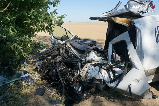 Wypadek w Żerdzinach: Śmierć na drodze w Żerdzinach. Kierowca zginął w wypadku