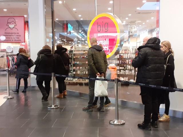 Galerie handlowe zostały ponownie otwarte 1.02.2021