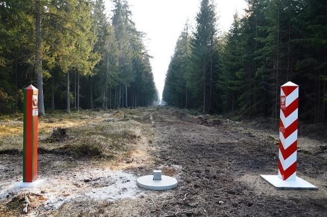 Tak wygląda granica Polska - Białoruś