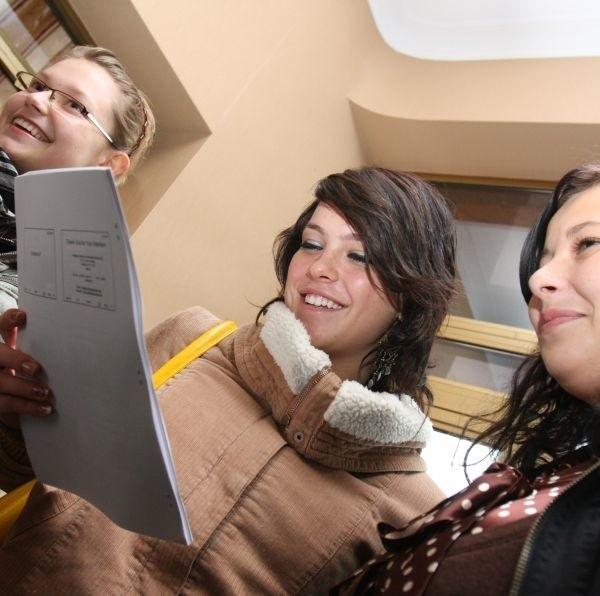 Już wiemy, jak zrobić idealny biznesplan - cieszą się Kasia, Emilia i Monika
