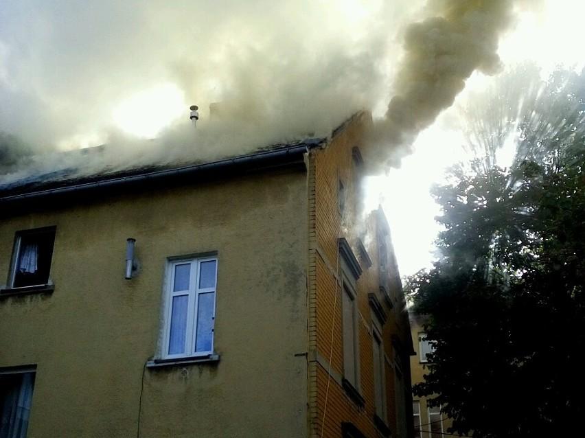 W środę (21 września) dyżurny z gubińskiego komisariatu otrzymał zgłoszenie o pożarze powstałym w jednej z kamienic na terenie miasta.