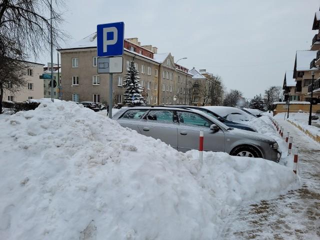 Tak było na białostockich ulicach i parkingach w pierwszej dekadzie lutego