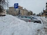 Białystok. Nie ma możliwości zawieszenia opłat w zaśnieżonej strefie płatnego parkowania. Ani przy każdym innym kataklizmie