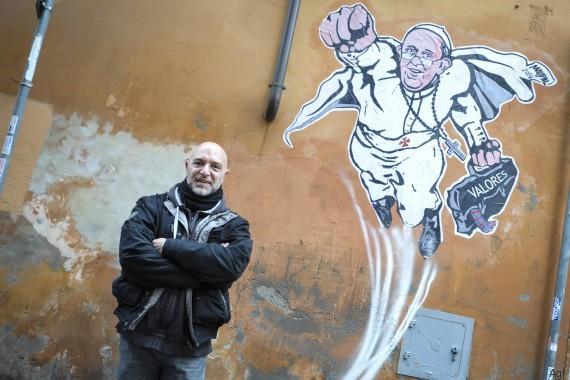 Maupal: Street art zawsze posiada polityczny ładunek