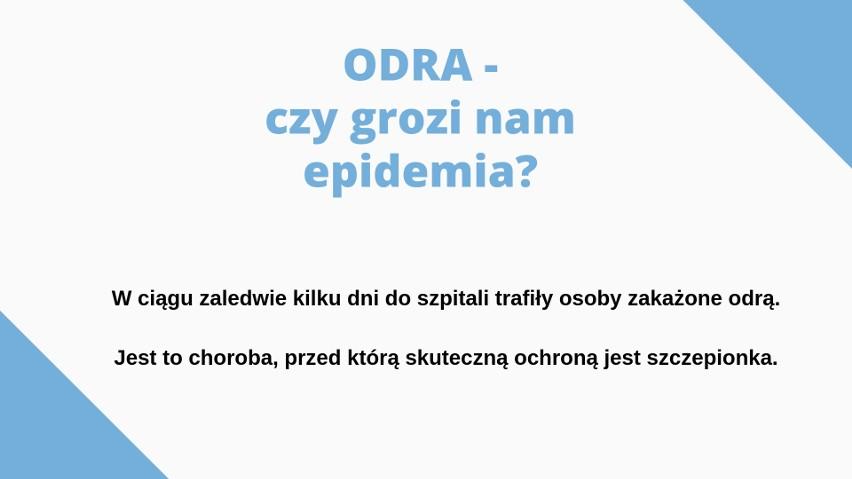 Odra na Pomorzu. Co należy wiedzieć o szczepionkach? Szczepienia chronią przed chorobami zakaźnymi. Odra w województwie pomorskim