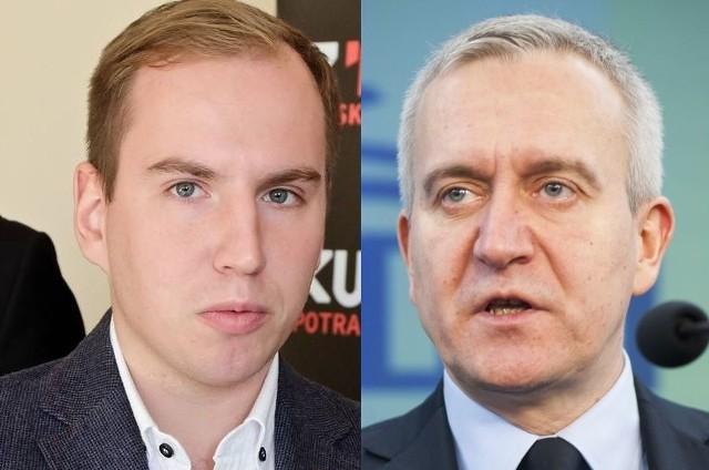 Adam Andruszkiewicz i Robert Tyszkiewicz mają różne wizje współpracy Polski z Białorusią
