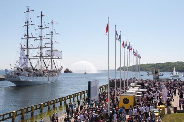 20 05 2018. Dar Młodzieży wypływa w Rejs Niepodległości