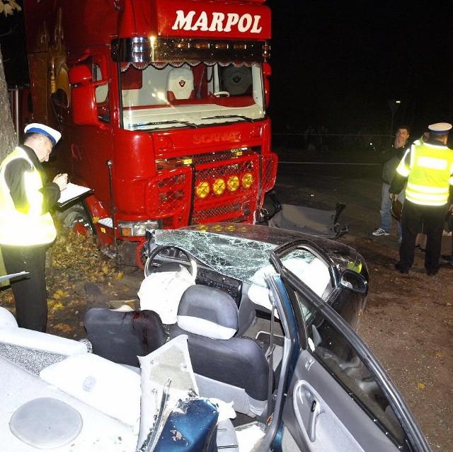 Do karambolu doszło wczoraj ok. 19.00, na drodze wojewódzkiej nr 132 (z Gorzowa przez Witnicę do Kostrzyna). Rannych zostało siedem osób.
