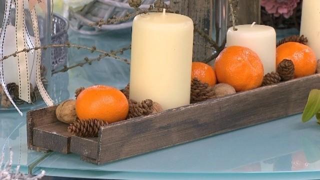Własnoręcznie zrobiona dekoracja świątecznaJak samemu zrobić dekoracje świąteczne (wideo)