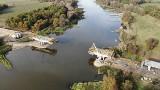 Tak powstaje most w Milsku i nowa droga. Zobaczcie najnowsze zdjęcia