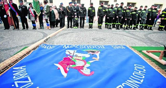 W boguszowskim OSP jest obecnie 26 strażaków, na całym Dolnym Śl. ponad 20 tysięcy