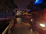 Wieliczka. Około 50 zalań i podtopień. Nieprzejezdna droga krajowa 94