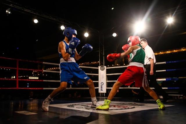 13.04.2018 warszawa hala gwardii landowski boxing night zawody bokserskie gala walka polska szwecja fot. lukasz kowalski/polska press