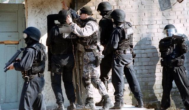 Akcja antyterrorystów miała miejsce w Katowicach przy ul Orkana