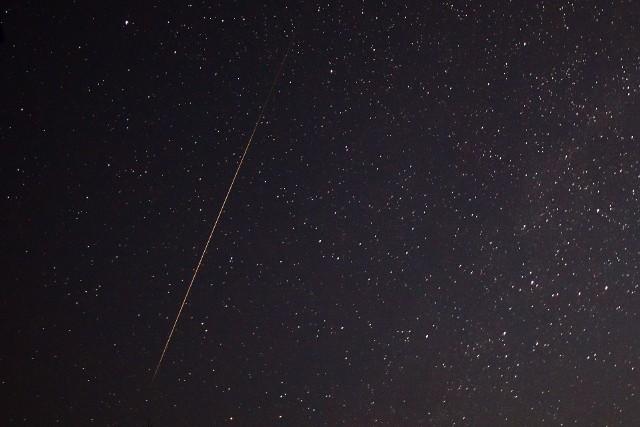 Przelot meteoru obserwowany w Bieszczadach 26 lipca br.