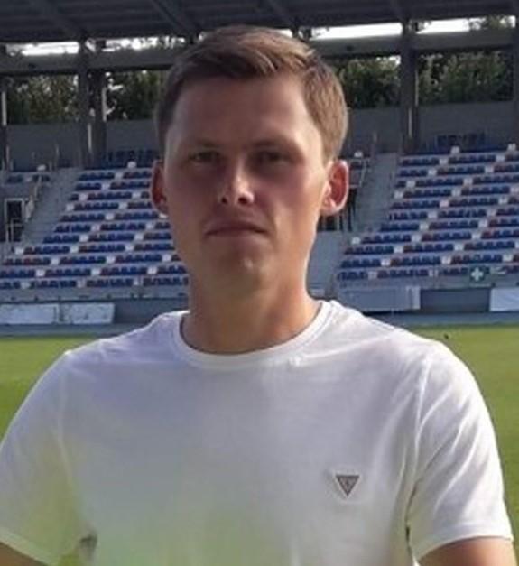 Konrad Zacharski, nowy bramkarz Broni Radom.