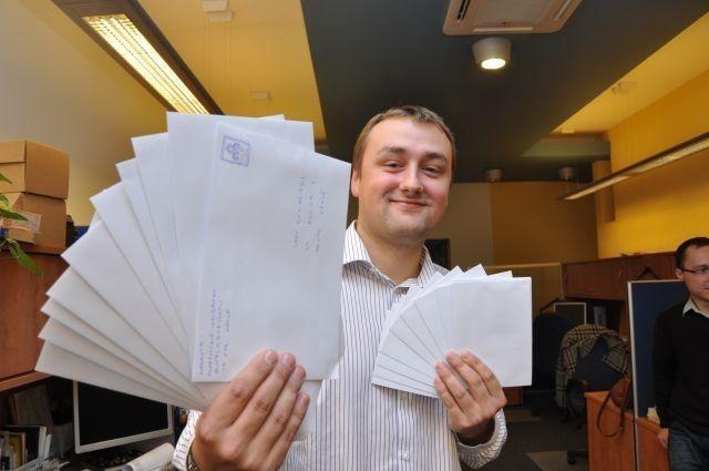 Przyjdźcie dziś z listami do WSB - zachęca Patryk Suliga, student z Opola.