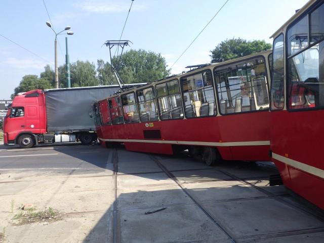 Wypadek w Świętochłowicach
