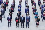 Prezydent powołał 196 sędziów. Nowi sędziowie także w Łodzi, Pabianicach i Zgierzu. Zdjęcia z Pałacu Prezydenckiego