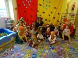 Dzieci z Odrzywołu powitały jesień i bawiły się w Klubie Malucha