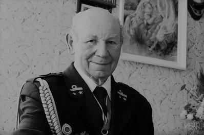 Zygmunt Strzelczak ze Złotnika był jednym z najstarszych strażaków ochotników w województwie lubuskim.