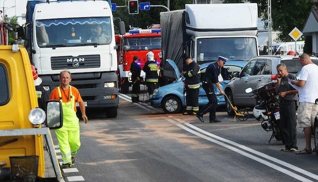 Układ komunikacyjny wokół podbydgoskiej brzozy woła o pilne rozwiązania zwiększające bezpieczeństwo ruchu kierowców i pieszych.