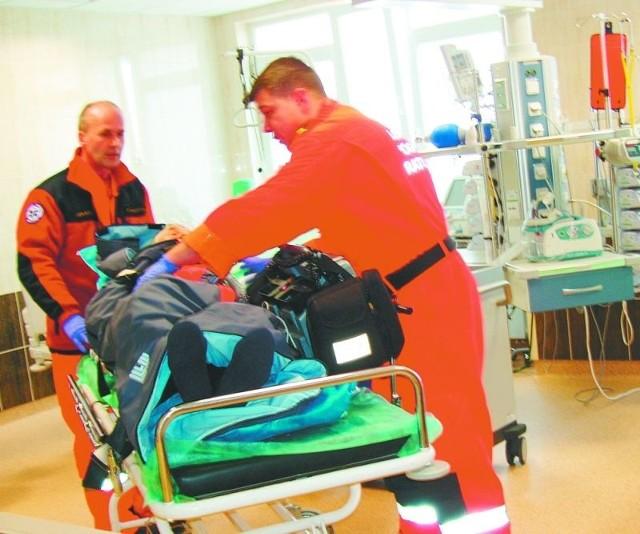 Szpitalny Oddział Ratunkowy zajmuje ok. 940 m. Personel dysponuje 230 nowoczesnymi urządzeniami.