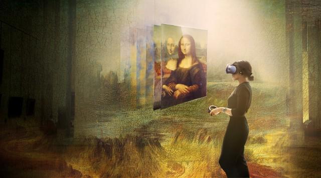 Luwr i HTC - Mona Lisa w wirtualnej rzeczywistości