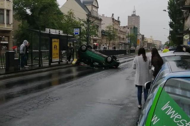 Wypadek na al. Kościuszki