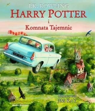 """""""Harry Potter i Komnata Tajemnic"""", Joanne K. Rowling, Poznań 2016, wyd. Media Rodzina."""