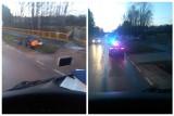 Lewickie. Wypadek na drodze. Groźne dachowanie, jedna osoba poszkodowana (zdjęcia)