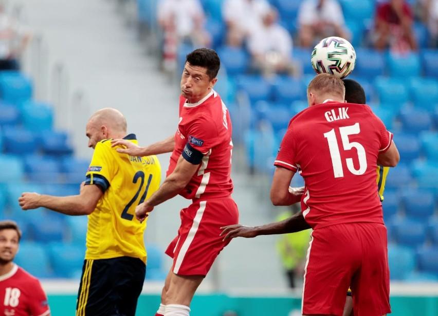Euro 2020. Mecz Szwecja - Polska 3:2
