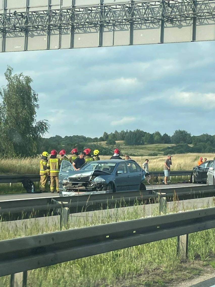 Wypadek na A6