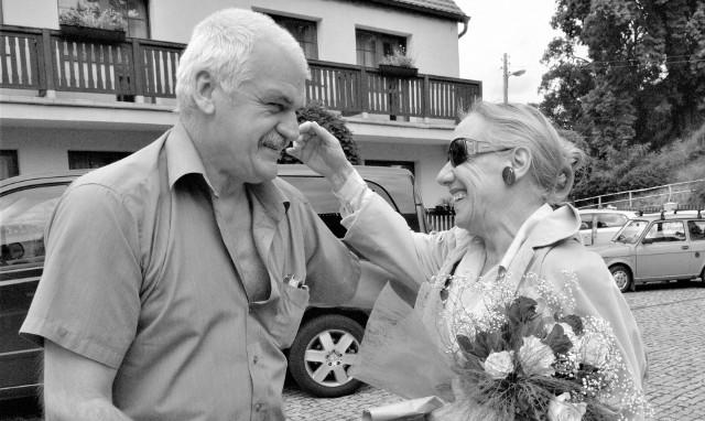 LLF 2007: Andrzej Kawala wita Maję Komorowską