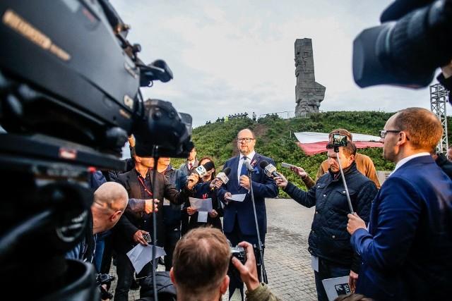 Obchody 78 rocznicy wybuchu II wojny światowej na Westerplatte