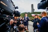 78. rocznica wybuchu II wojny światowej. Konflikt podczas uroczystości na Westerplatte [WIDEO]