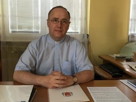 Ksiądz Adam Kędzierski - nowy proboszcz katedry.