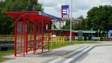 Białystok. Okolice ul. Branickiego i Warszawskiej. Miasto wybudowało nową pętlę autobusową. Pierwsze autobusy już w sierpniu (zdjęcia)