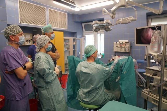 Pierwsze zabiegi urologiczne w BCO z wykorzystaniem lasera holmowego.