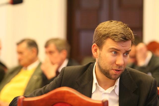 Bartosz Domaszewicz jest radnym PO