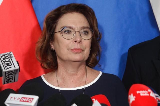 Małgorzata Kidawa-Błońska, posłanka Platformy Obywatelskiej